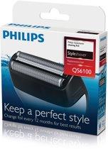 Philips QS6100/50 - StyleShaver scheerblad voor QS6140 en QS6160 - 1 stuk