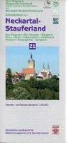 Neckartal - Stauferland 1 : 20 000. Topographische Freizeitkarte 21