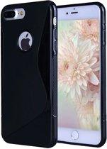 S Line hoesje case zwart voor iPhone 7 Plus
