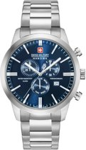 Swiss Military Hanowa 06-5308.04.003 horloge heren - zilver - edelstaal