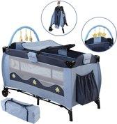 Kinder reisbed - campingbed - inclusief matras en accessoires