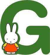 """Nijntje houten letter """"G"""""""