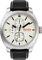 Boss Orange HO1550026 Cape Town Horloge - Leer - Zwart - Ø 46 mm