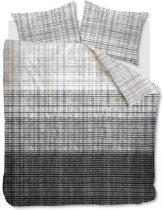 Beddinghouse Bent - Dekbedovertrek - Lits-jumeaux - 240x200/220 cm - Zwart