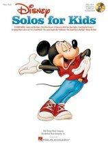Disney Solos For Kids (Book/Online Audio)