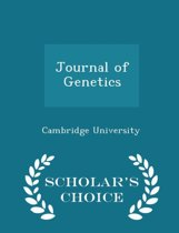 Journal of Genetics - Scholar's Choice Edition