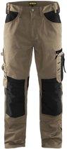 Blåkläder 1556-1860 Werkbroek zonder spijkerzakken Stone/Zwart maat 50