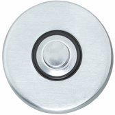Intersteel - Beldrukker - verdekt kunststof - mat chroom - 0017.399027