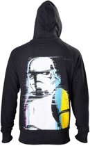 Star Wars Hoodie Zwarte Stormtrooper op Achterkant L