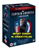 Captain America 3-Movie Collection [3 x Blu-ray 3D + 2D]