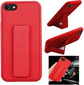 BackCover Grip voor Apple iPhone 8 Plus/7 Plus/6 Plus Rood