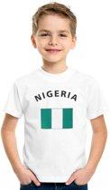 Nigeria t-shirt kinderen S (110-116)