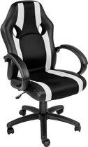TecTake - bureaustoel Benjamin, zwart-wit, comfortabel - 402155