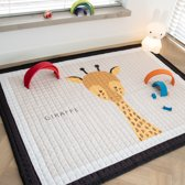 Love by Lily - groot speelkleed - Giraffe - 150x200