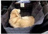 Doctor Bark 2-zits achterbank beschermhoes, grijs, maat L