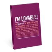 Knock Knock I'm Lovable Mini Inner-Truth Journal