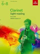 Clarinet Sight-Reading Tests, ABRSM Grades 6-8