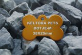 Keltora Pets Aluminium Penning Botje Gold