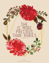 She Is More Precious Than Rubies - Proverbs 3
