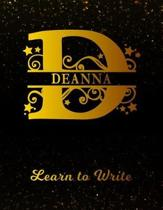 Deanna Learn To Write