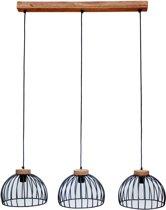 Brix Hanglamp Morris Zwart Staal