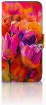 Samsung Galaxy E7 Boekhoesje Design Tulips