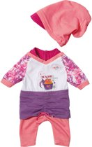 BABY born Casual Paars/Roze - Poppenkleertjes