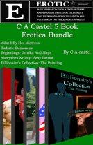 C A Castel 5 Book Erotica Bundle