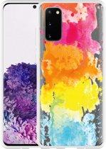 Samsung Galaxy S20 Hoesje Color Splatters