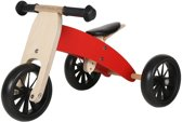 Bandits and Angels Smart bike 4in1 - Loopfiets - Rood