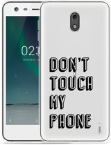 Nokia 2 Hoesje Don't Touch My Phone