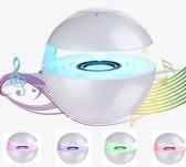 TKSTAR Draadloze geluidsmuziekdoos met aanraakknop, Mini Bluetooth-luidsprekers, verlichting Kleurwissel, Ingebouwde microfoon en Bekabelde modus voor iPhone Samsung Mobiele telefoon voor Jongensmeisje (Wit)