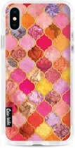 Casetastic Hard Case Apple iPhone X / XS - Pink Moroccan Tiles