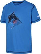 Regatta-Alvarado IV-Outdoorshirt-Unisex-MAAT 128-Blauw