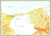 Kaart Atlas van het bijbelse continent - De uittocht uit Egypte