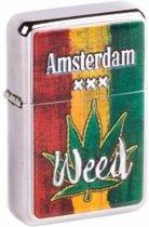 Matix - Zippo aansteker - Amsterdam Weed