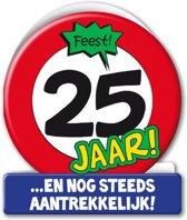 Paperdreams - Wenskaart - Verkeersbord - 25 Jaar