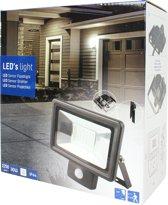 LED's Light floodlight 30W 2250Lm 4000K IP65 met sensor