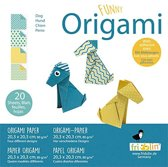 Fridolin Origami Hond Vouwen 20 X 20 Cm 20 Stuks Multicolor