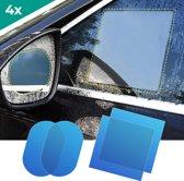 4x Nano Coating Auto Buitenspiegel Folie Voor Veilig Zicht Onderweg - Zijspiegels – Achteruitkijkspiegel