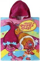 Trolls Poppy badcape voor kinderen