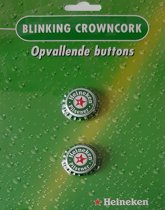 Heineken knipperende kroonkurken