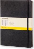 Moleskine Classic Notebook - XL - Squared - Hard Cover - Black