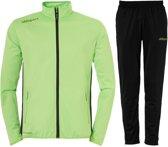 Uhlsport Essential Classic  Trainingspak - Maat L  - Mannen - groen/zwart