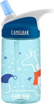CamelBak Eddy Kids-Drinkfles-400 ml-Blauw (Winter Buddies)
