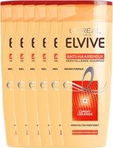 L'Oréal Paris Elvive Anti Haarbreuk Shampoo - 6x250 ml - Voordeelverpakking