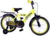 Volare Thombike City 16 inch jongensfiets terugtraprem geel
