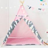 Blitsr Tipi Speeltent voor Kinderen - Inclusief accessoires - Roze