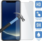 Apple iPhone Xs - Screenprotector - Tempered glass - Case friendly