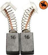 Koolborstelset voor Hitachi zaag CM 6 - 7x11x17mm - Vervangt 999043 & 999073